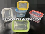 caja de comida hermetica 2 colores