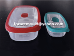 caja de dos colores apta para alimentos