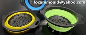 cesta de drenaje de molde de dos colores