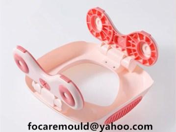 diseno de moldes para orinal bebe bicolores