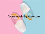 diseno del molde del alimentador de alimentos frescos de dos colores