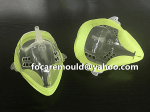 mascara de plastico doble molde