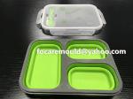 molde bento box plegable 2k