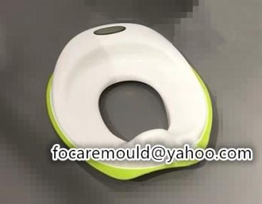 molde de asiento de inodoro para bebe de dos colores