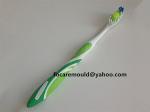 Molde de cepillo de dientes de 3 colores