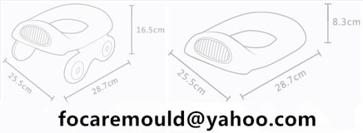 orinal de dos colores utilizado para automovil