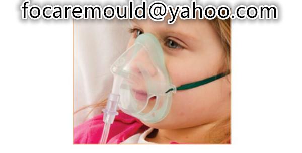 pediatrica de oxigeno mascarilla doble inyeccion