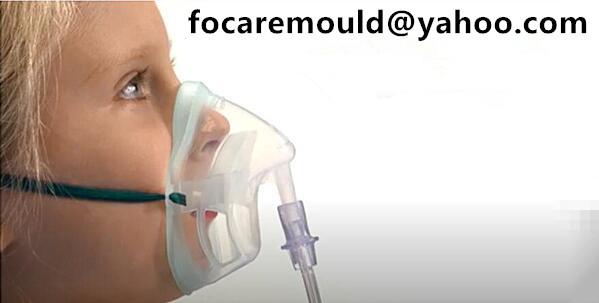 Molde de mascara medica pediatrica de dos colores