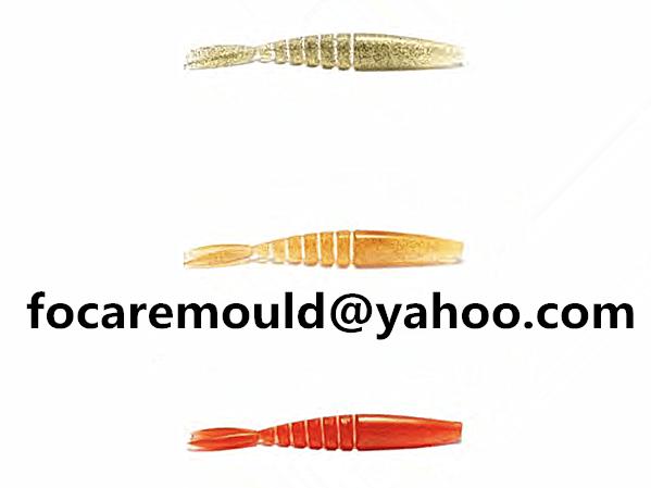 diseno de senuelos de pescado de dos colores