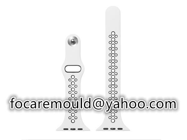 banda de pulsera de iphone de doble inyeccion