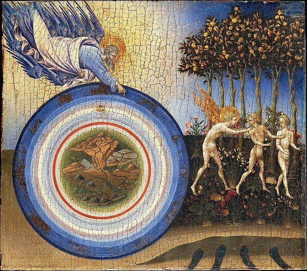 Expulsión del Paraíso, de Giovanni di Paolo