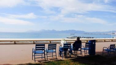 Saliendo de Cannes