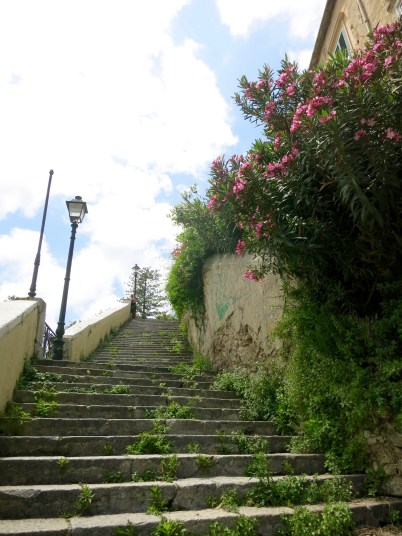 Escalinata en Tropea