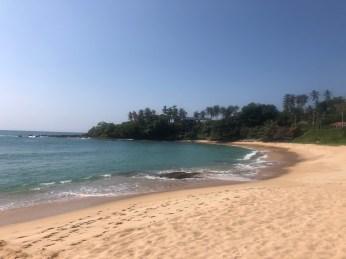 ... pero la playa cumplía