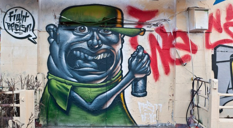 Graffiti am Schlachthof Wiesbaden