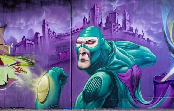 Wiesbaden Tannhäuserstraße - Graffiti
