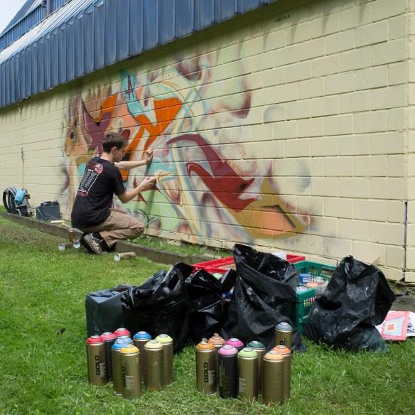 2013-06-29 X100 Graffiti Freiraumgallerie Maintal 023