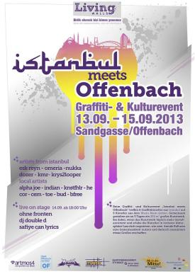 2013-09 Plakat Offenbach meets Istanbul