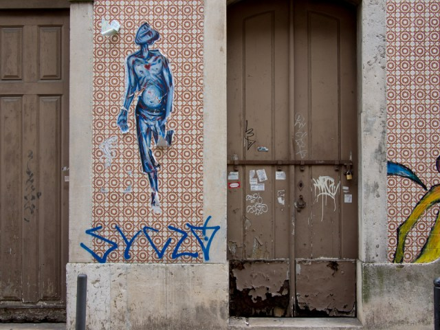 Lissabon Graffiti