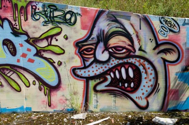 Graffiti Gießen Air Base