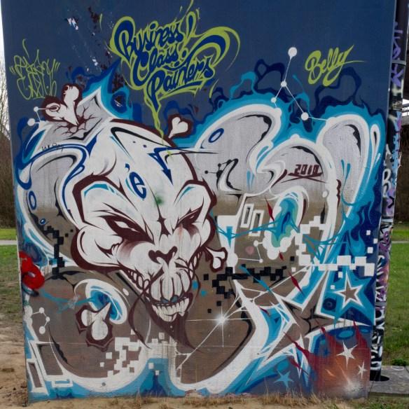 Graffiti und Streetart Brüssel