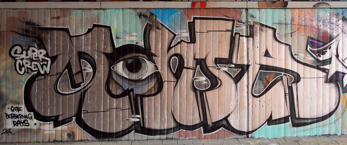 Mainz - Graffiti am großen Sand - Update