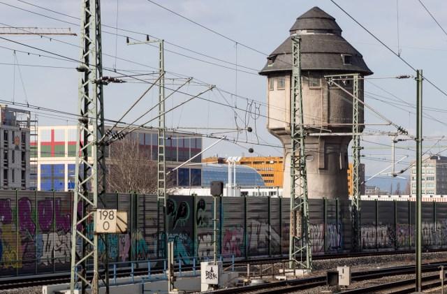 Frankfurt Graffiti Galluswarte