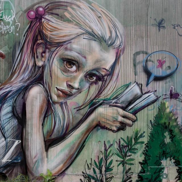 Bad Vilbel Graffiti Herakut