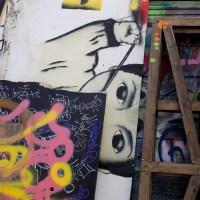 Graffiti am Jugendladen Bornheim (Naxoshalle)