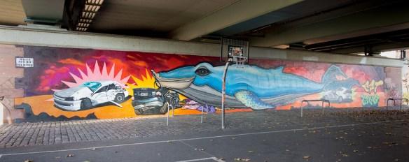 Frankfurt - Unter der Friedensbrücke