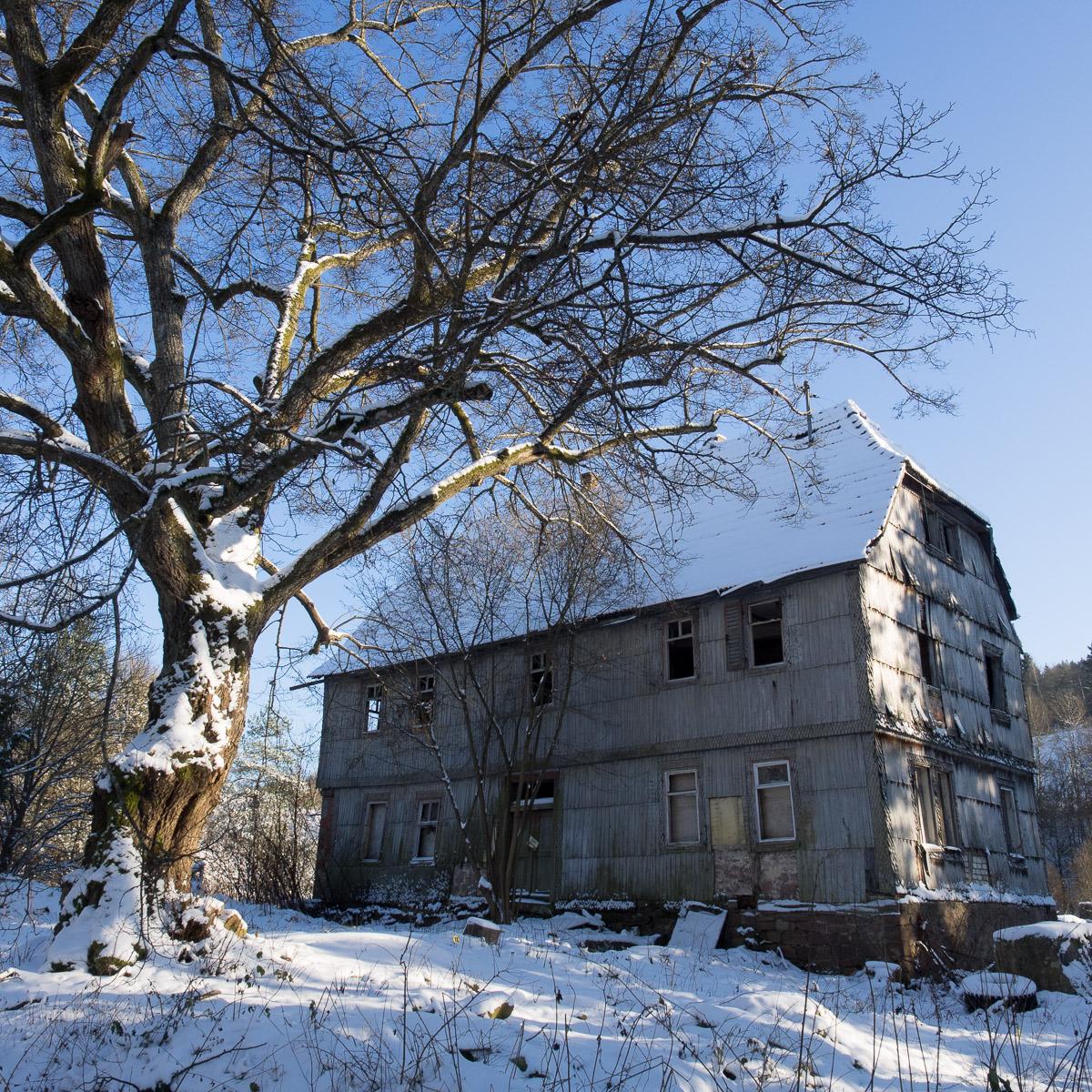 Winter im Spessart - Spaziergang um Altengronau