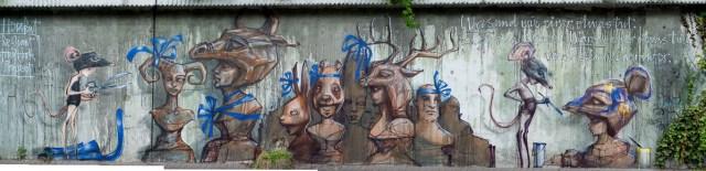 2013-06-12 X100 Graffiti Bad Vilbel Herakut 019-Bearbeitet
