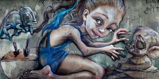 2013-06-12 X100 Graffiti Bad Vilbel Herakut 032-Bearbeitet