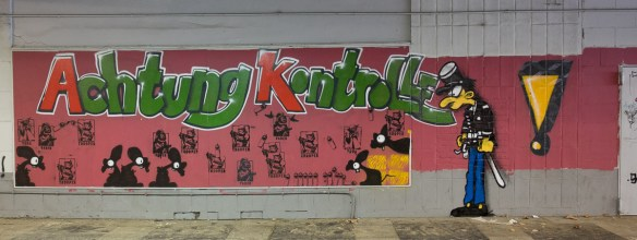 Graffiti Ostbahnhof