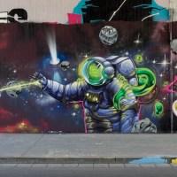 Wiesbaden - Graffiti an der Tannhäuserstraße (Update, 05/2015)