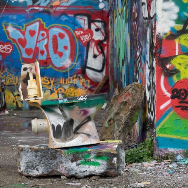 Graffiti Schlachthof Wiesbaden