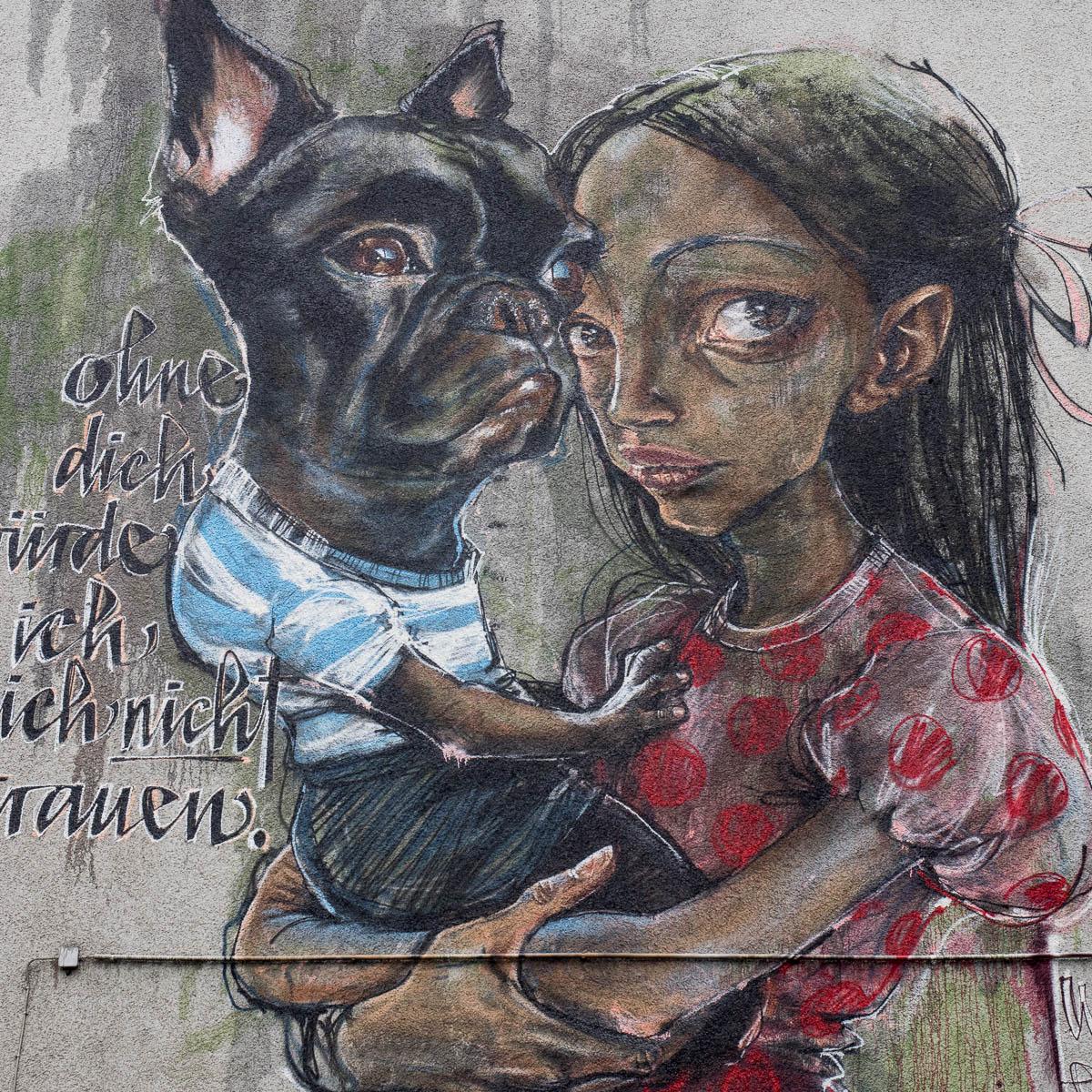 """Herakut in Köln - """"ohne dich würde ich mich nicht trauen"""""""