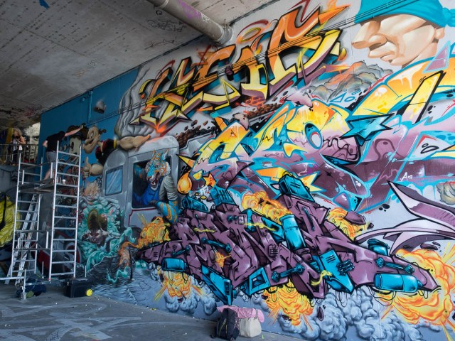 Graffiti Wiesbaden Meeting of Styles 2015
