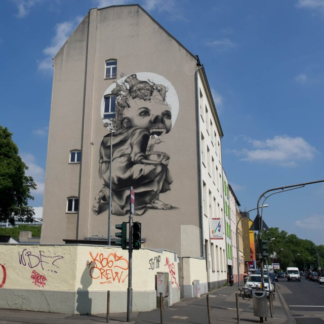 Graffiti Streetart Köln Ehrenfeld