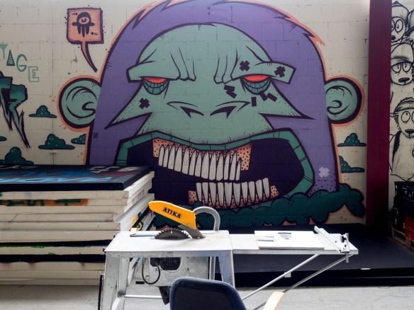 Graffiti Maintal Railway