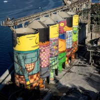 GIANTS von Osgemeos in Vancouver