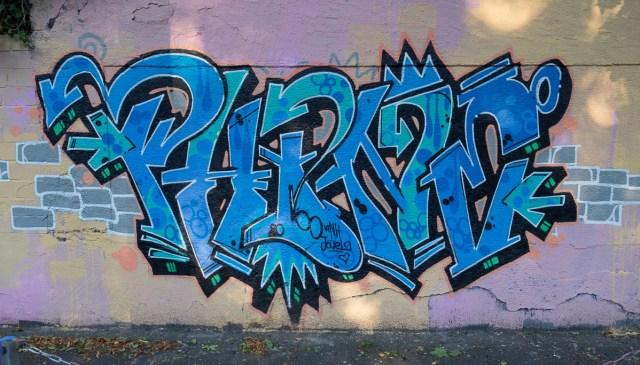 Graffiti Darmstadt Hall of fame