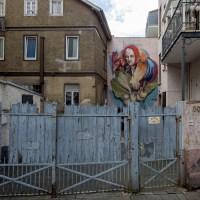 Graffito von Sare in Offenbach