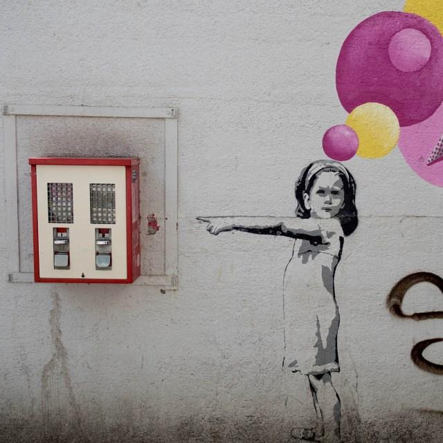 Offenbach Graffiti Gedankengang