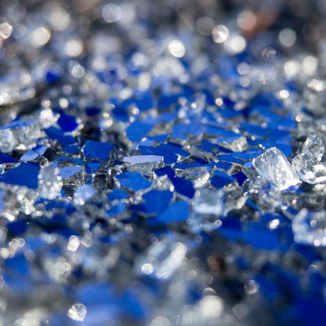Glas Blickwinkel Kunst