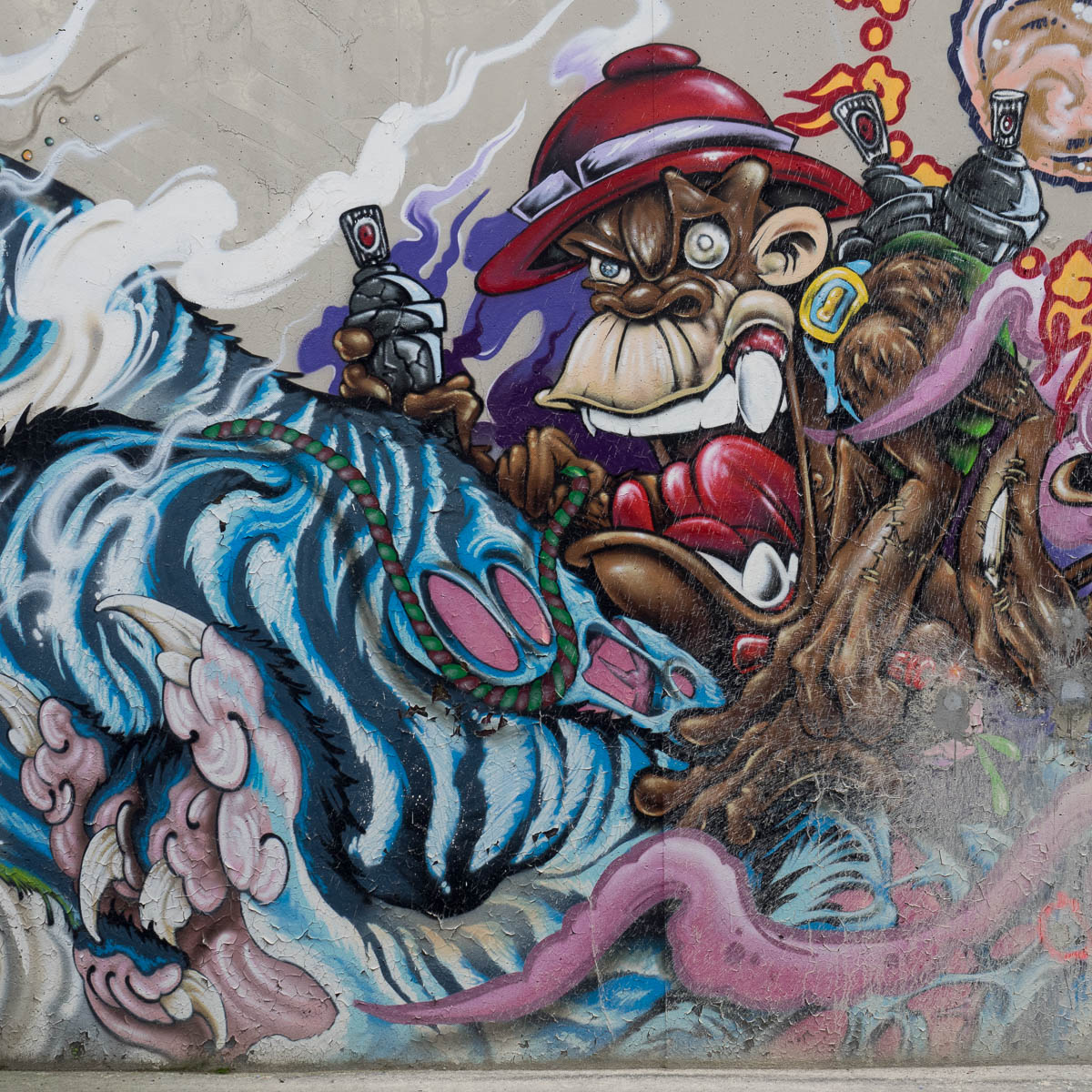 Würzburg – Graffiti / Hall of fame – Hintere Wände (5/5) 12/2015