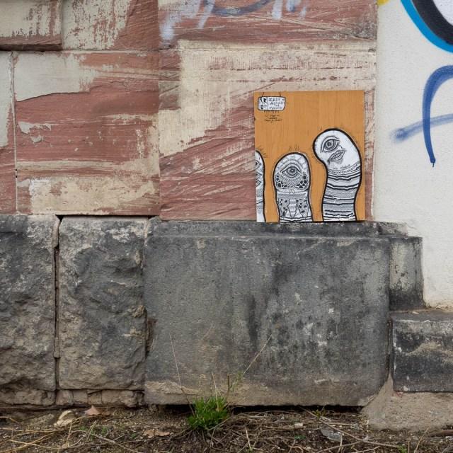 Frankfurt Streetart Iro