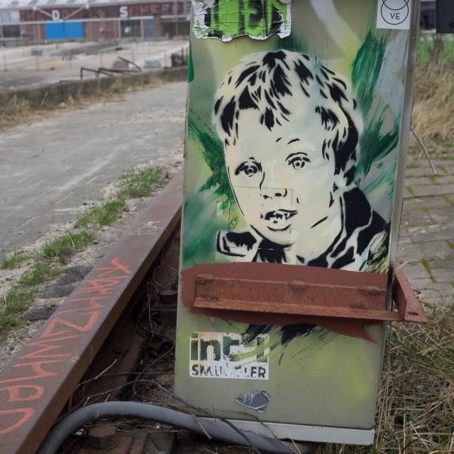 Amsterdam Stencil Streetart NDSM