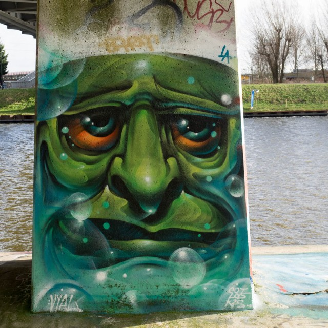 Amsterdam Graffiti Flevopark Hall of fame