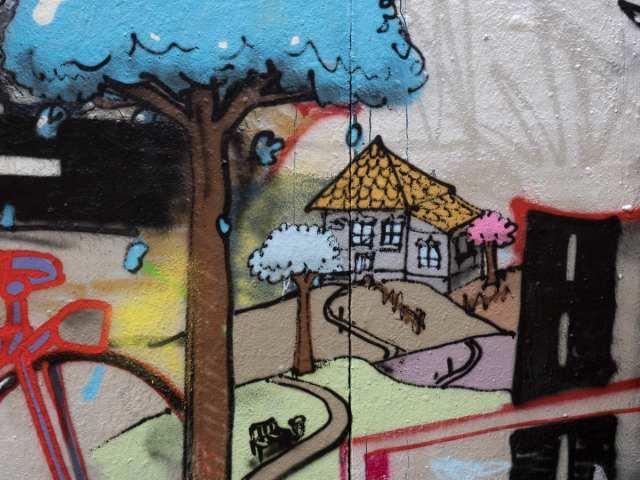 Graffiti Frankfurt Naxoshalle